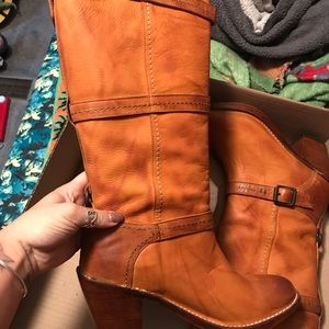 Brand new Frye boots.